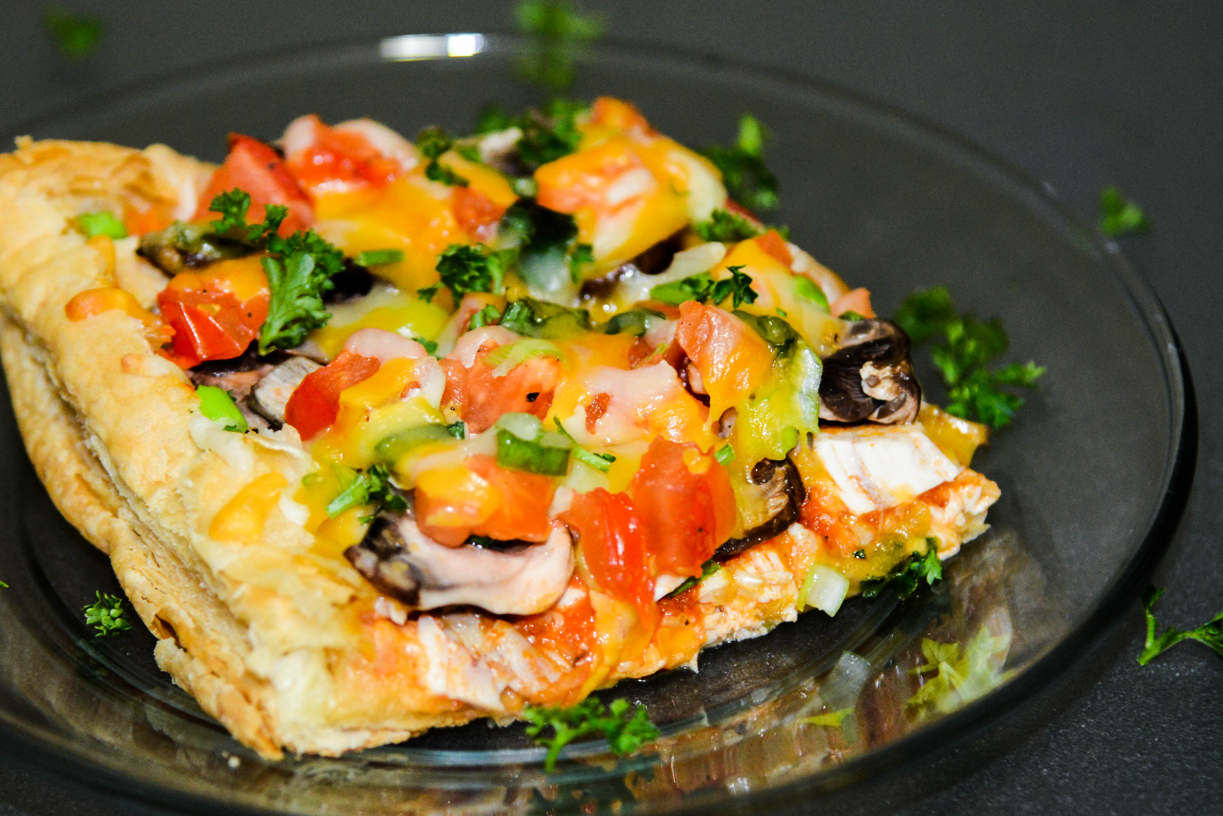 Rotisserie Chicken Puff Pastry Pizza Recipe Evelina S Home Cooking